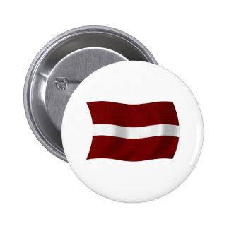 Latvia Flag Button
