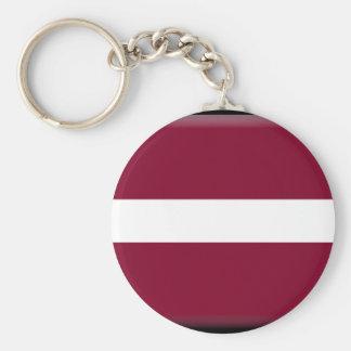 Latvia Flag Keychains