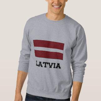 Latvia Flag Sweatshirt