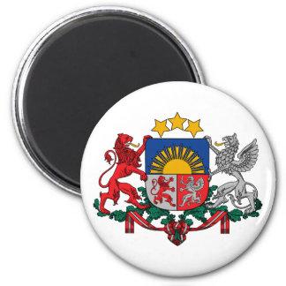Latvia, Latvia 2 Inch Round Magnet
