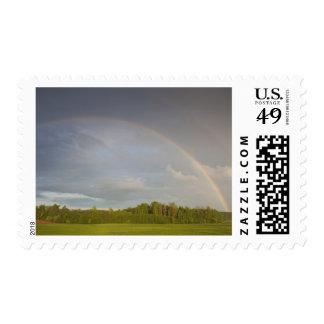 Latvia, Northeastern Latvia, Vidzeme Region, 5 Postage Stamp