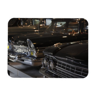 Latvia, Riga, Riga Motor Museum, cars of the Rectangle Magnet