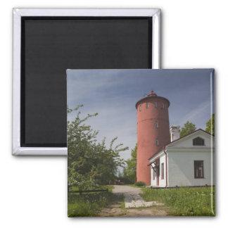 Latvia, Western Latvia, Kurzeme Region, Cape 2 2 Inch Square Magnet