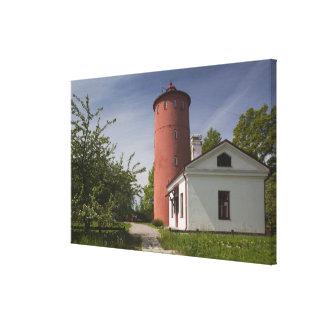 Latvia, Western Latvia, Kurzeme Region, Cape 2 Canvas Print