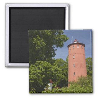 Latvia, Western Latvia, Kurzeme Region, Cape 2 Inch Square Magnet