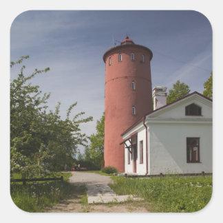 Latvia, Western Latvia, Kurzeme Region, Cape 2 Square Sticker