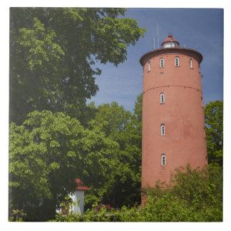Latvia, Western Latvia, Kurzeme Region, Cape Ceramic Tile