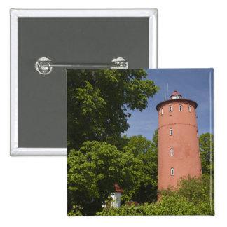 Latvia, Western Latvia, Kurzeme Region, Cape Pinback Button