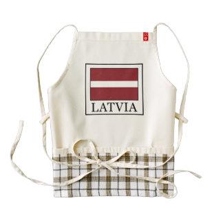 Latvia Zazzle HEART Apron