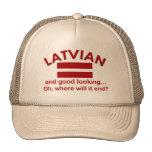 Latvian apuesto gorras