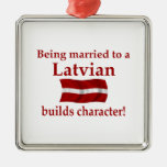 Latvian Builds Character Christmas Tree Ornament