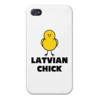 Latvian Chick iPhone 4 Cases