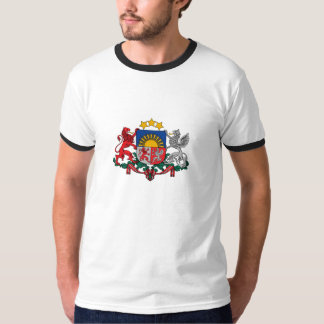 Latvian coat of arms t shirt