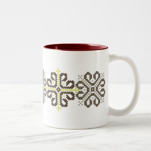 Latvian coffee mug