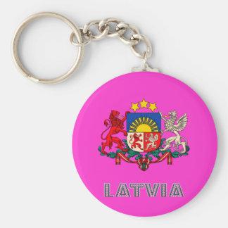 Latvian Emblem Key Chains