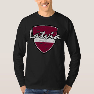 Latvian flag design T-Shirt