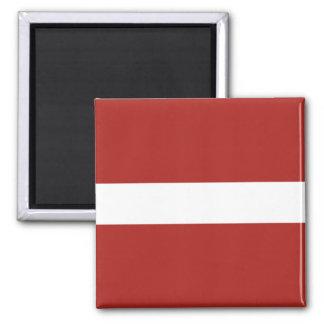 Latvian Flag Magnet