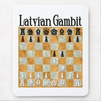 Latvian Gambit Mouse Pad