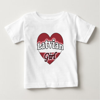 Latvian Girl Baby T-Shirt