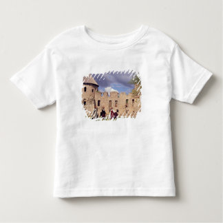 Latvian girls in traditional dress, singing toddler t-shirt