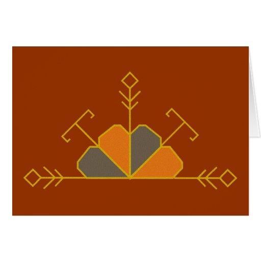 Latvian half saulite card