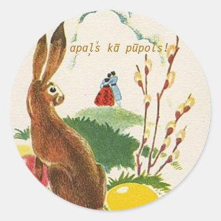 Latvian Palm Sunday sticker
