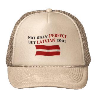 Latvian perfecto gorras