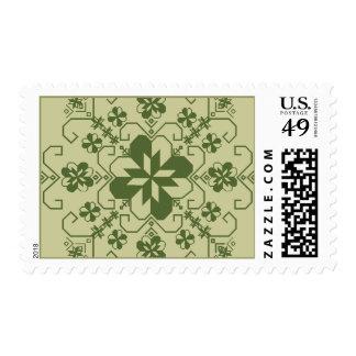 Latvian Saulite stamp