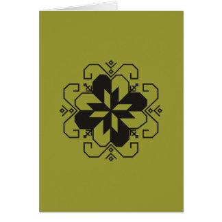 Latvian saulites karte card