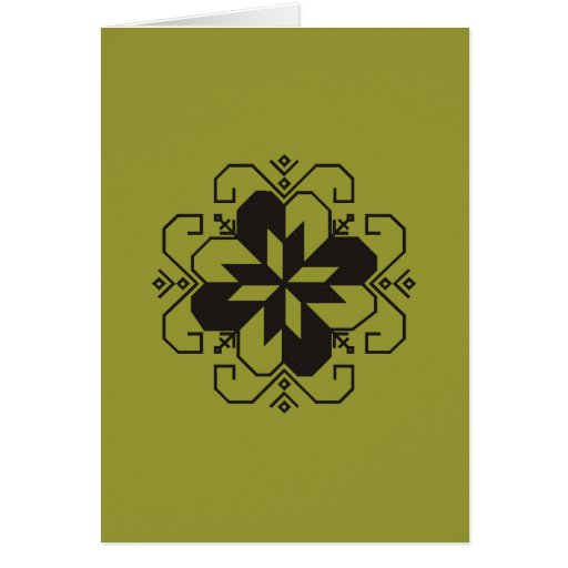 Latvian saulites karte greeting cards