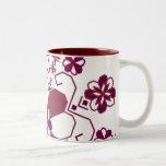 Latvian sun mug