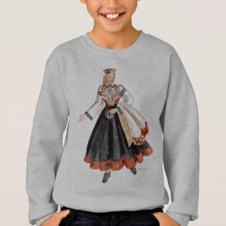 Latvian Tautu meita Sweatshirt