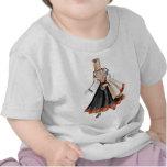 Latvian Tautu meita T Shirts