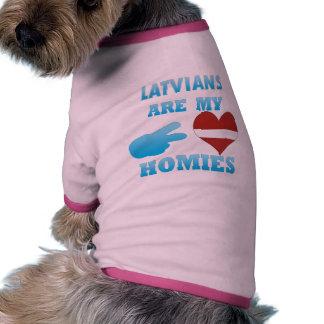 Latvians are my Homies Doggie Tee