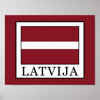 Latvija Poster