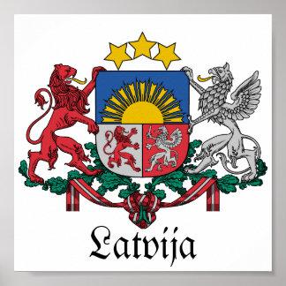 Latvijas Lielais-gerbonis, Poster