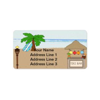 Laua/etiquetas de dirección de la invitación del f etiqueta de dirección