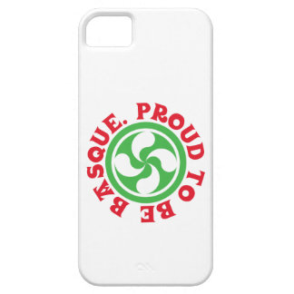 Lauburu, Proud to be Basque iPhone SE/5/5s Case