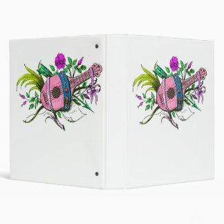 """Laúd y plantas del rosa del Victorian del vintage Carpeta 1"""""""
