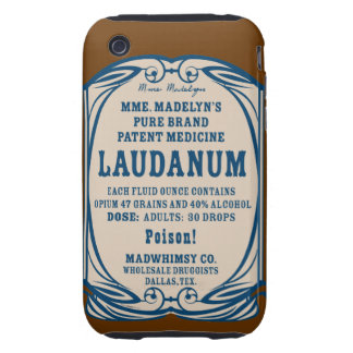 Laudanum iPhone 3G Tough Case Tough iPhone 3 Case