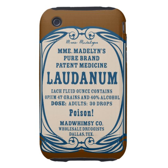 Laudanum iPhone 3G Tough Case