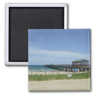 Lauderdale by the Sea, Fort Lauderdale Florida 2 Inch Square Magnet