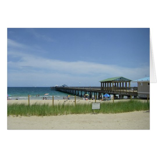 Lauderdale by the Sea, Fort Lauderdale Florida Card