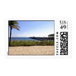 Lauderdale-por--Mar, playa de la Florida y Sello