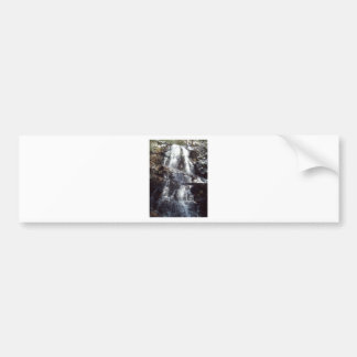 Lauel Falls in Winter Bumper Sticker
