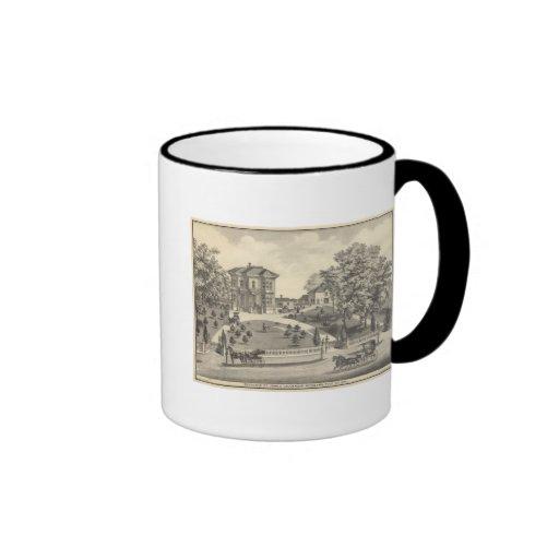 Laugenour residence, Woodland Coffee Mugs