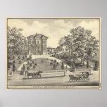 Laugenour residence, Woodland Print