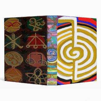 Laugh a lot  - CHO KU RAY  Reiki Symbols Binder