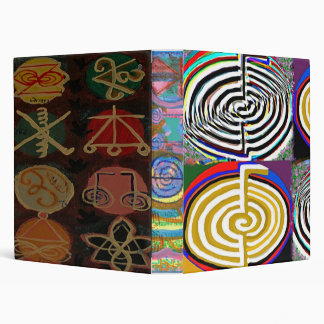 Laugh a lot  - CHO KU RAY  Reiki Symbols Binder