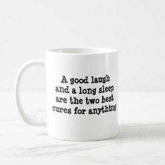 Laugh and a Long Sleep Coffee Mug